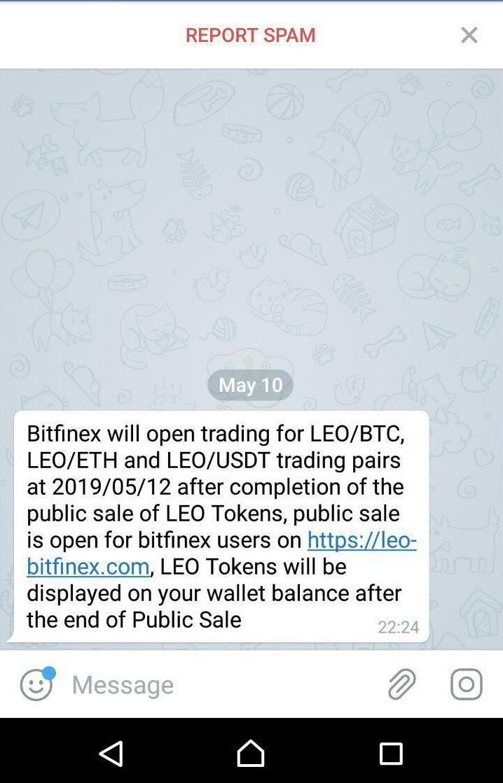 Bitfinex начала приватную распродажу токенов LEO - COINLIFE
